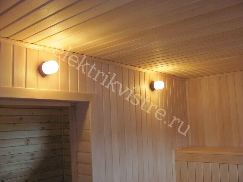 Монтаж электрики в деревянных домах