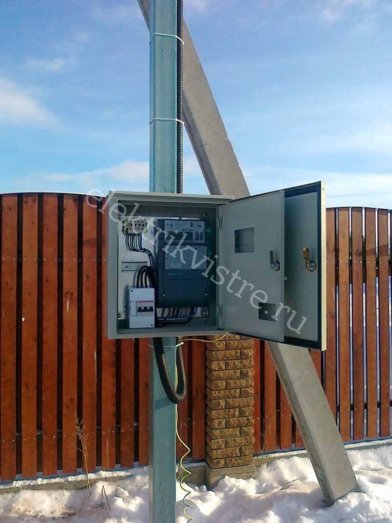 Выполнение техусловий на ввод 15кВт, подключение к электросетям, согласования