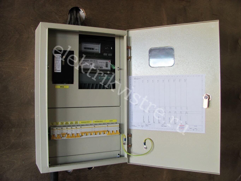 Сборка электрощитов с документацией